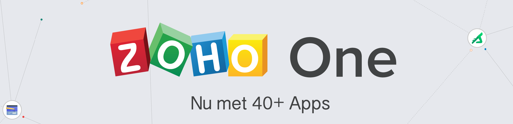 Zoho One met 40+ apps